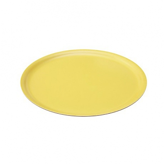 Langø - Yellow wooden tray